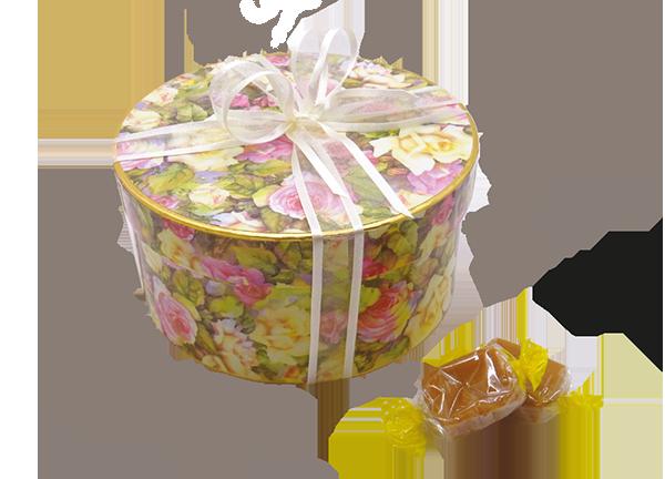 Box of Fudge with Ribbon copy